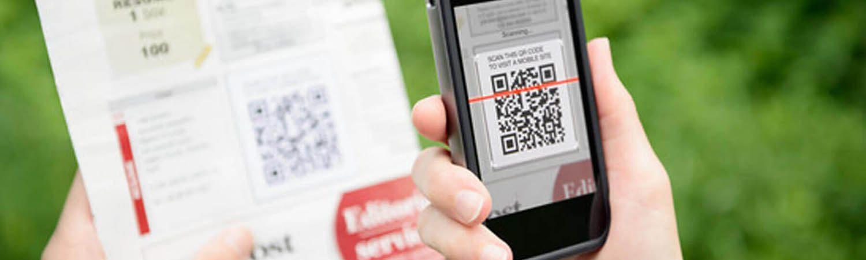 на Ваших Единых платежных документах размещены  QR-коды (двумерные штрих-коды).