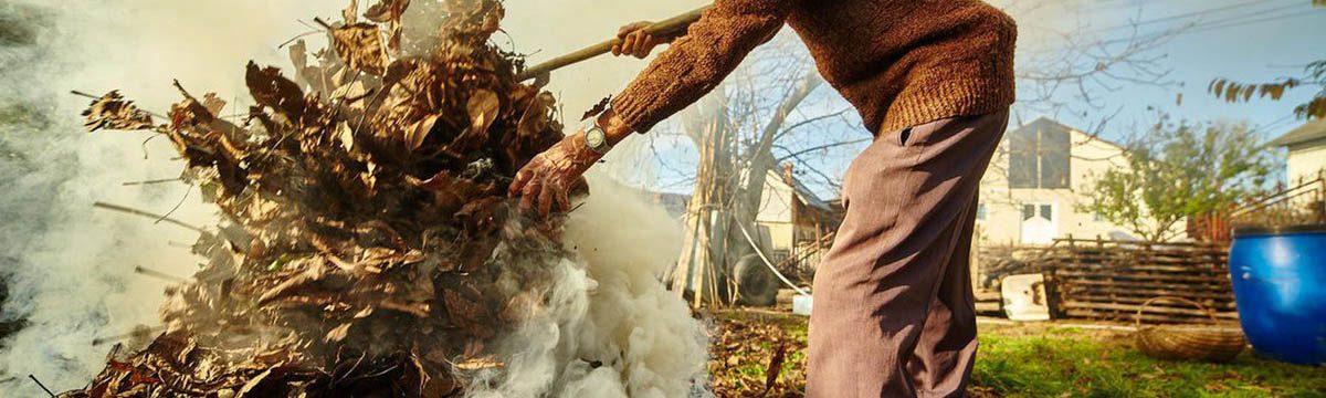 Ролик об опасности сжигания сухой травы и мусора на садовых и дачных участках